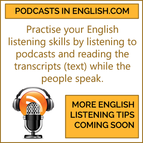 podcasts in englsh